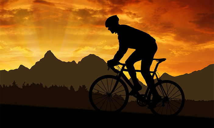 Cycling 20 miles a week can reduce the risk of coronary artery disease by 50%