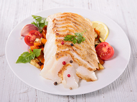 Eating For Heart Health: Fish Filets With Fresh Tomatoes