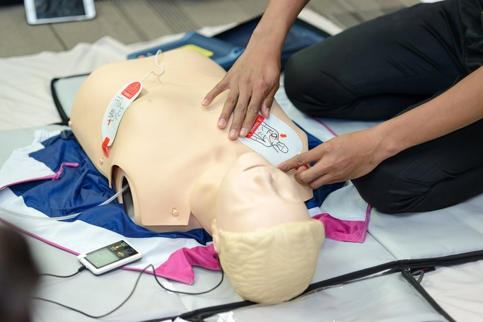 Heart Health: How to use an AED