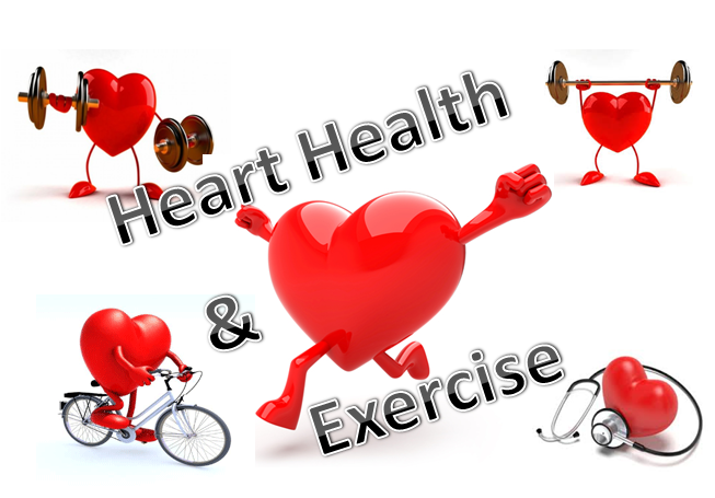 Heart exercise and numbers