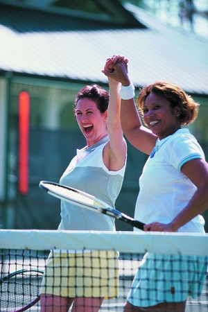 When it comes to heart health, there's a lot to love about racket sports.