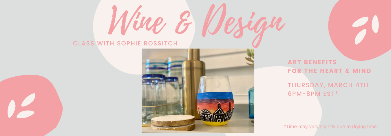Wine and Design Class