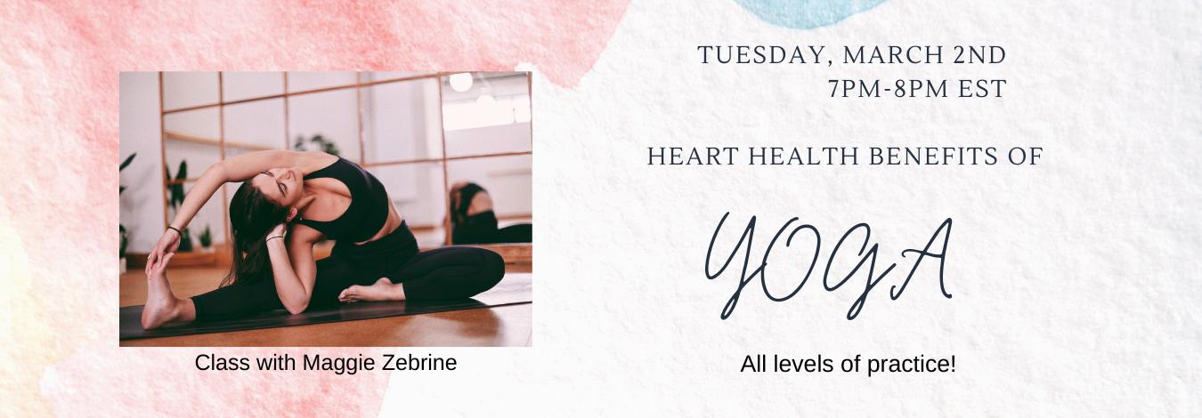 Heart Health Benefits of Yoga