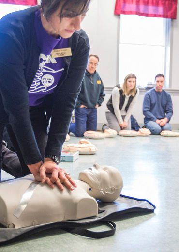 Life-saving starts immediately with cardiac arrest