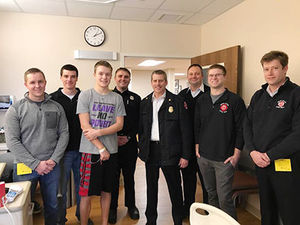 Waunakee athlete revived after cardiac arrest.