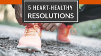 Five Heart Healthy Resolutions For 2017