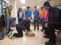 Teaching Kids To Restart A Heart