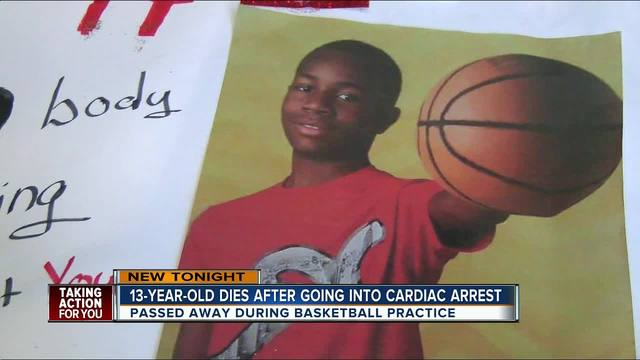 Tampa teen dies after basketball practice