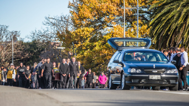 Hundreds farewell Waitohi rugby player Bevan Moody
