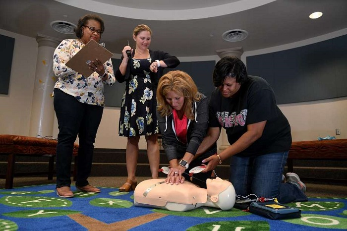 Bernshausen Elementary earns award for trauma team efforts