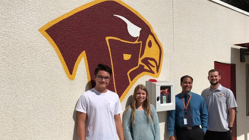 Torrey Pines teens fundraise to bring life-saving AEDs to campus