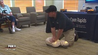 Officer Shares Life-Saving Mission To Teach Public CPR
