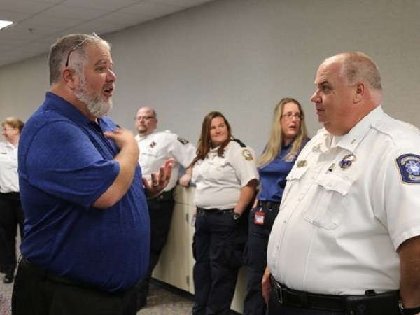 Cardiac arrest survivors thank Escambia County first responders