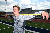 Montoursville's Dinges Overcomes Brush With Death, Off To PIAAs In Javelin