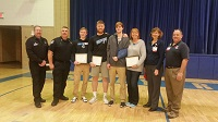 Ceremony Honors Individuals who Saved the Life of Teen Volleyball Player