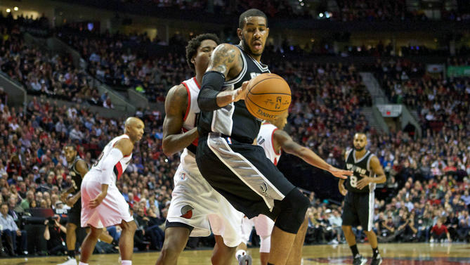 Spurs' LaMarcus Aldridge cleared to return to full activities after heart health scare