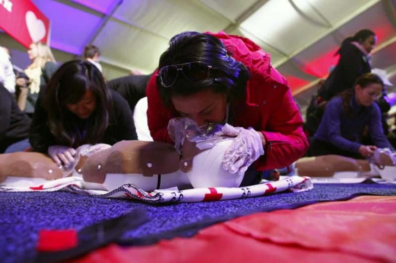 Cardiac arrest survival odds may rise with public CPR training
