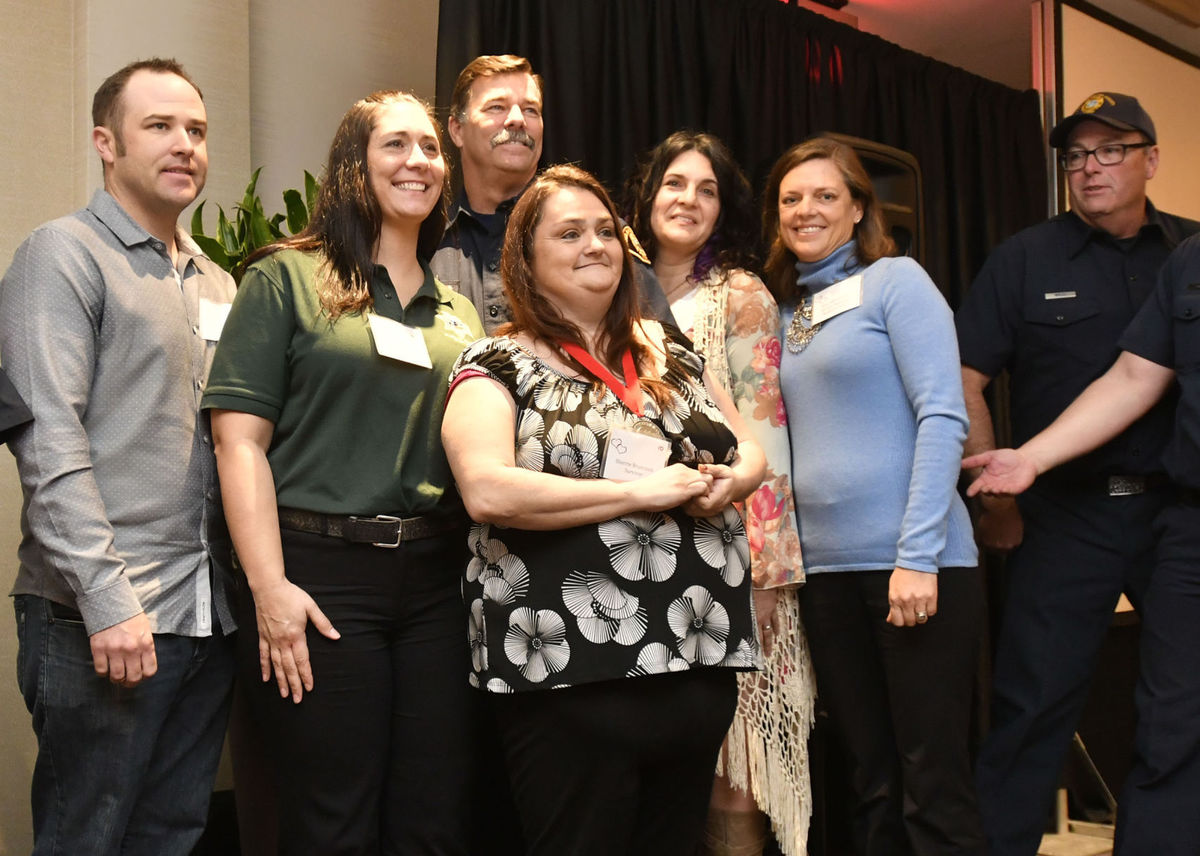 Cardiac arrest survivors reunite with responders at countywide event