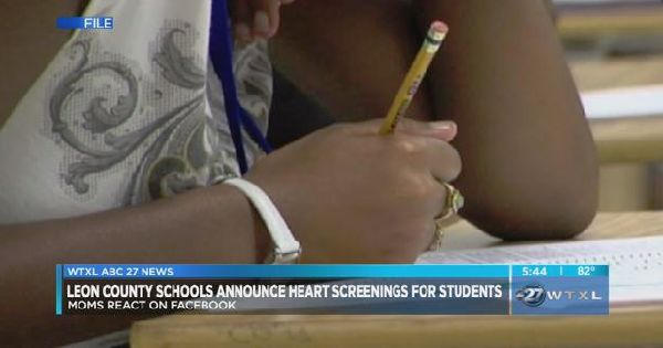Leon County School Board approves free heart screenings for 6th graders